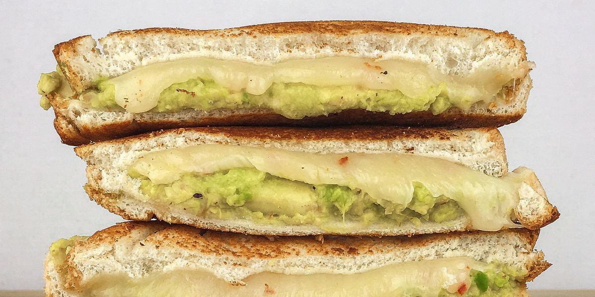 Avocado Grilled Cheese Recipe Grilled Cheese Recipes Delish Com
