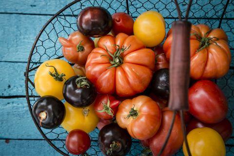 """Though cherry tomatoes dropped down to #14 on this year's list, the  full-grown variety still remain in the top 10. A release from EWG warns  that """"the ..."""