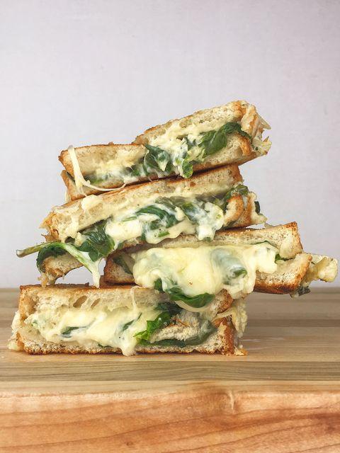 Spinach Artichoke Grilled Cheese Recipe
