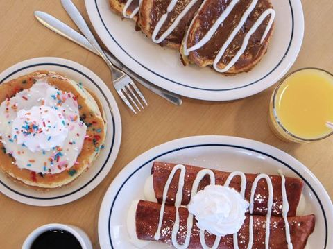 Were Freaking Out About IHOPs New Dessert Inspired Pancakes