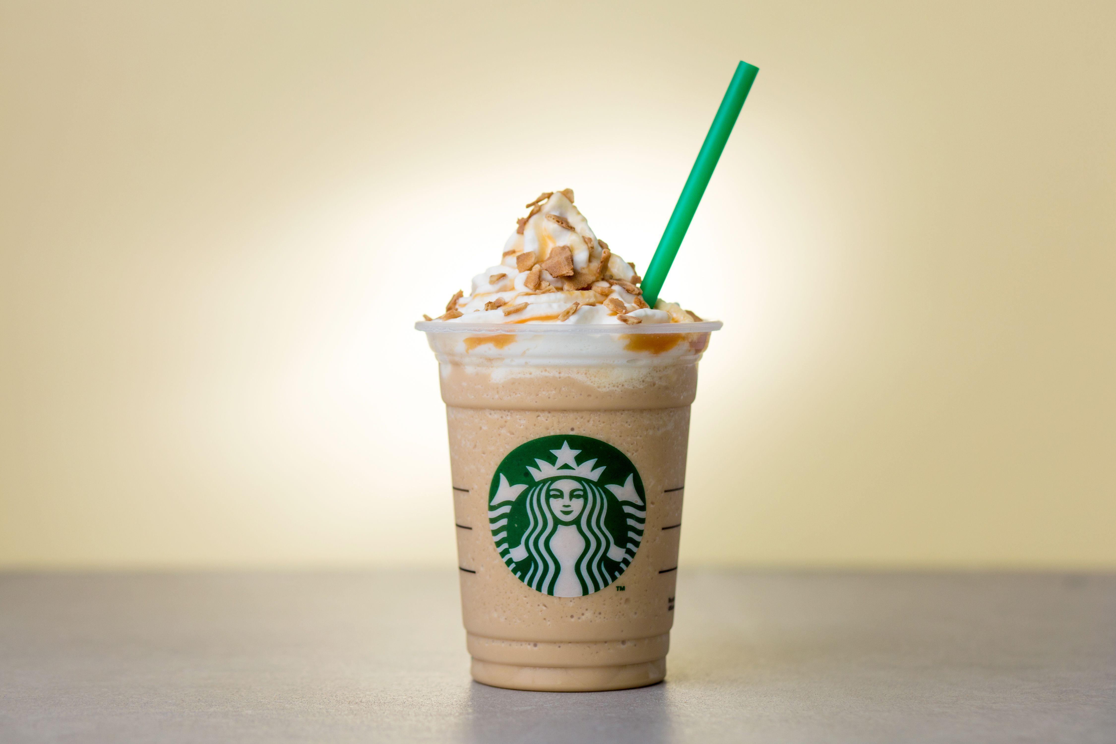 Starbucks New Frappuccino - Caramel Waffle Cone Frappuccino