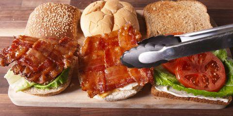 Dish, Food, Cuisine, Ingredient, Fast food, Slider, Hamburger, Salmon burger, Junk food, Veggie burger,