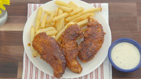 Copycat Chili's Honey-Chipotle Chicken Crispers