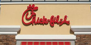 Chick-fil-A signage