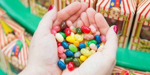 Bertie Bott's Every Flavor Beans Hands
