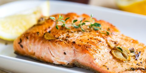 Food, Ingredient, Tableware, Seafood, Plate, Cuisine, Garnish, Fish, Breakfast, Citrus,