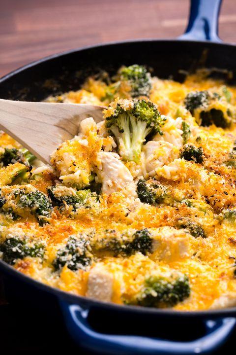 Easy Cheesy Chicken And Broccoli Casserole Recipe Delish Com