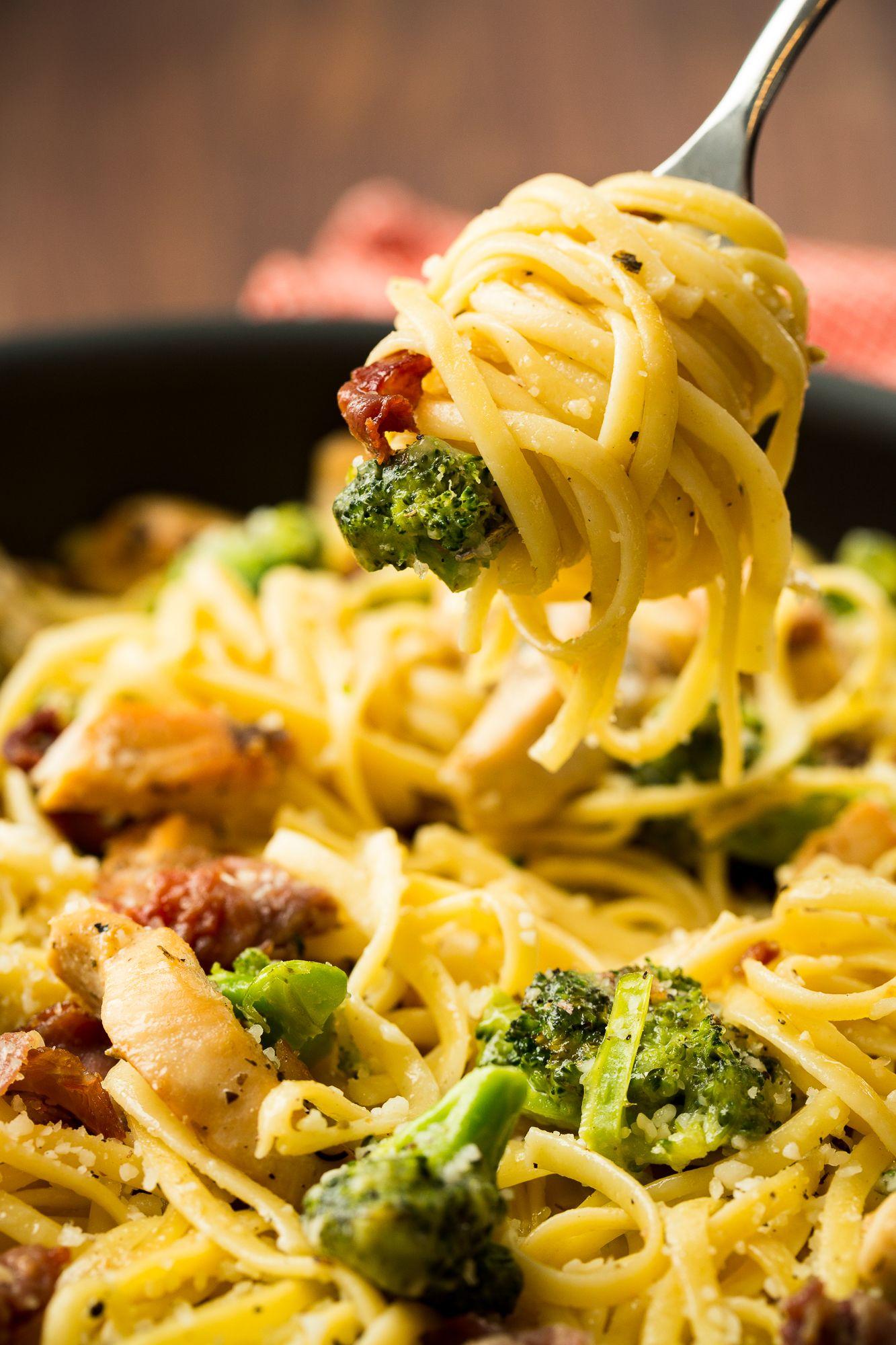 30 Easy Chicken Pasta Recipes