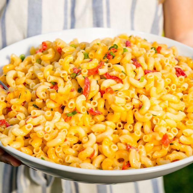 Dish, Food, Cuisine, Ingredient, Pasta, Rotini, Macaroni, Macaroni and cheese, Pasta salad, Italian food,