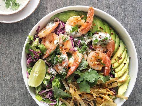 Grilled Shrimp Taco Bowl Recipe