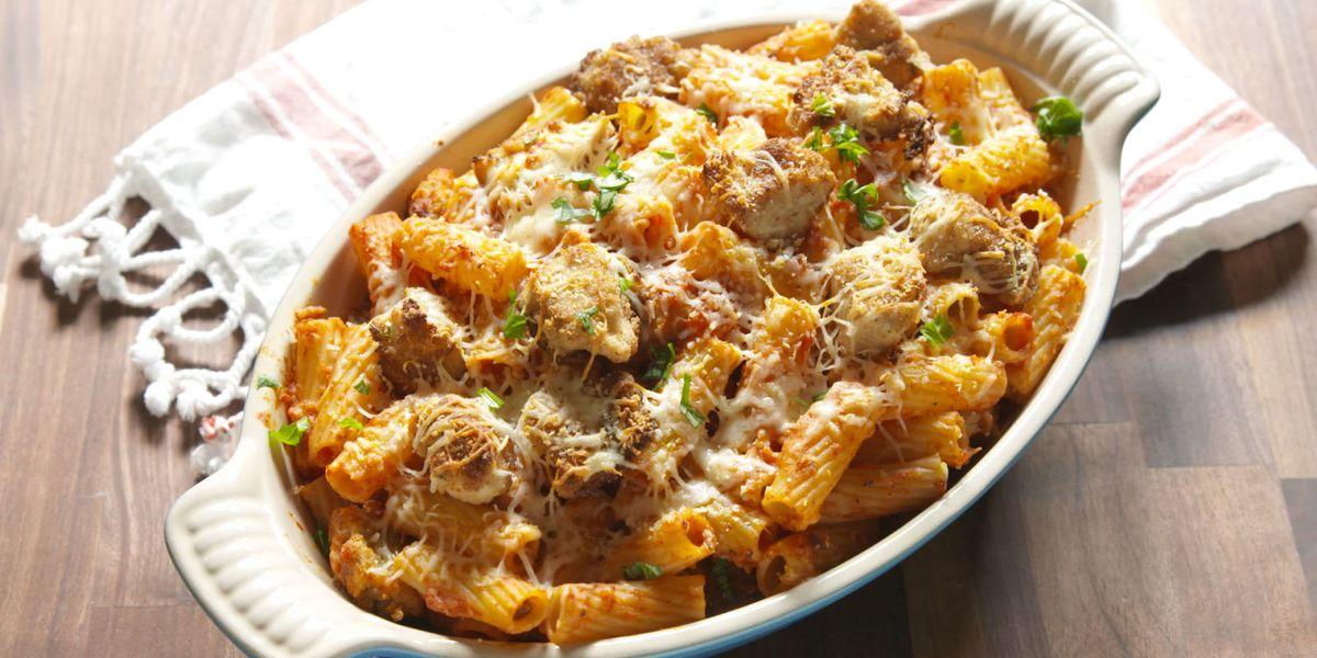 Chicken Parm Rigatoni Bake Best Casserole Recipes Delish Com