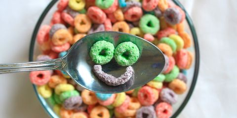 Food, Sweetness, Colorfulness, Kitchen utensil, Confectionery, Cuisine, Recipe, Breakfast cereal, Cutlery, Spoon,