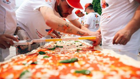 Hat, Food, Cap, Dish, Baseball cap, Pizza, Ingredient, California-style pizza, Recipe, Coquelicot,