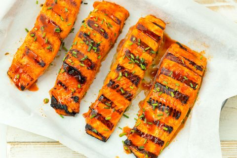hot shot grilled salmon