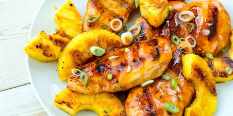 grilled aloha chicken recipe