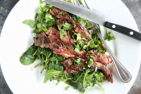 Ginger-Garlic Flank Steak Recipe