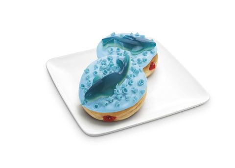 Ceramic, Aqua, Teal, Turquoise, Dishware, Porcelain, Serveware, Plate, Dessert, Pottery,