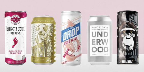 canned wine spritzer
