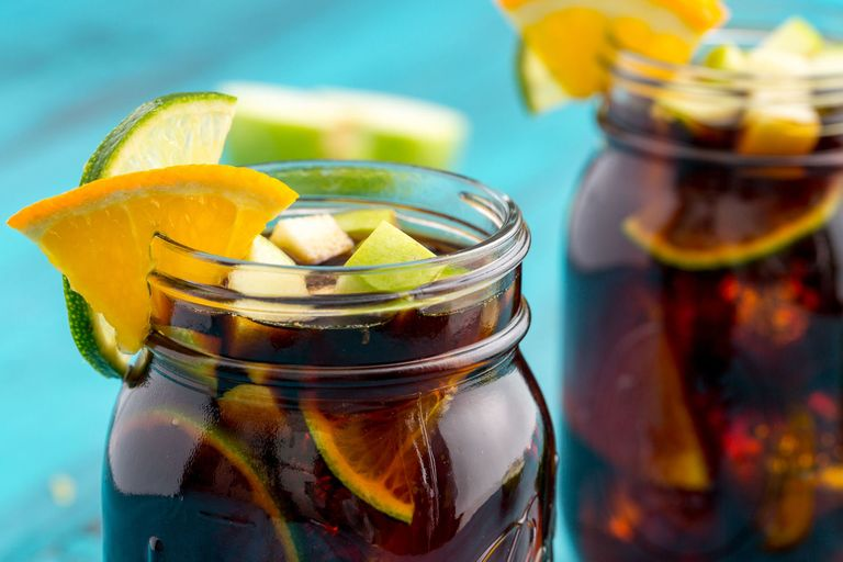 Iced Coffee Sangria