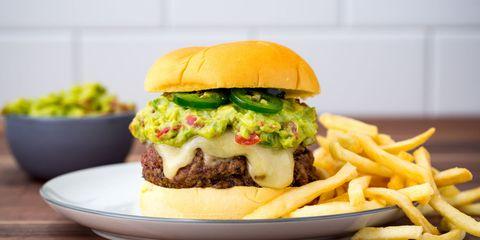 Guacamole Burger Recipe