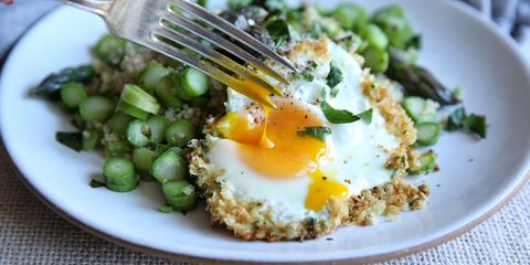 Best easter recipes 2017 food ideas for easter asparagus quinoa with fried egg recipe forumfinder Choice Image