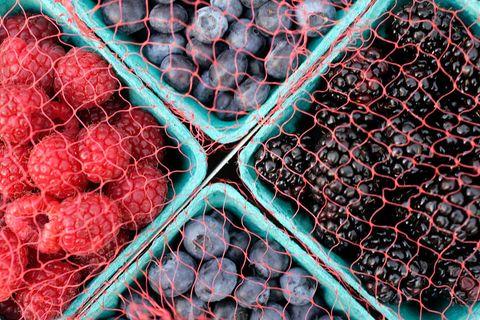 blackberry, blueberry, raspberry, berries