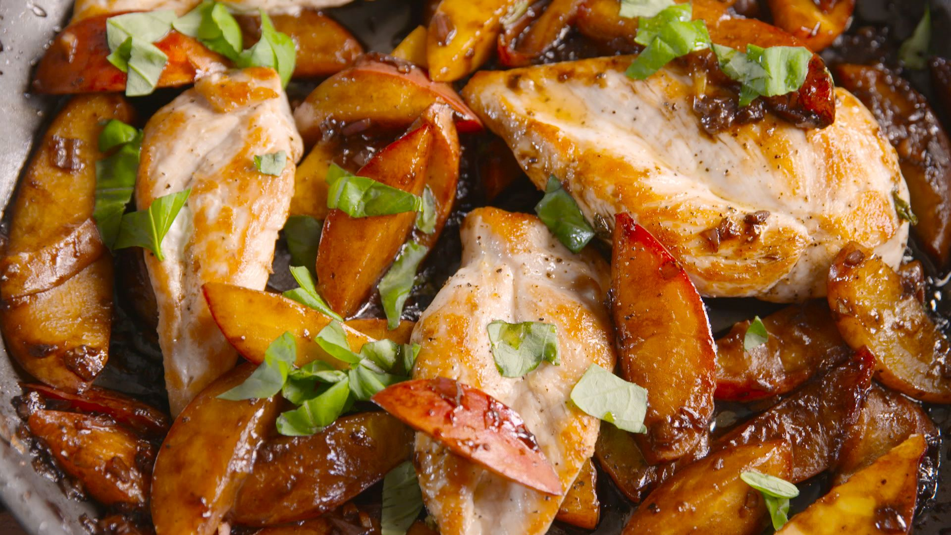 Best Peach Balsamic Chicken Recipe How To Make Peach Balsamic Chicken
