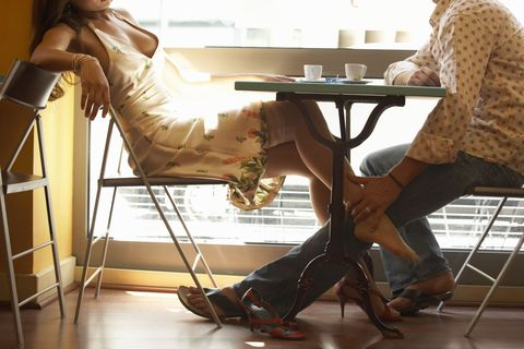 Floor, Table, Flooring, Sandal, Wood flooring, Laminate flooring, Stool, Foot, High heels, Ankle,