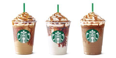 Starbucks' Affogato-style Frappuccinos