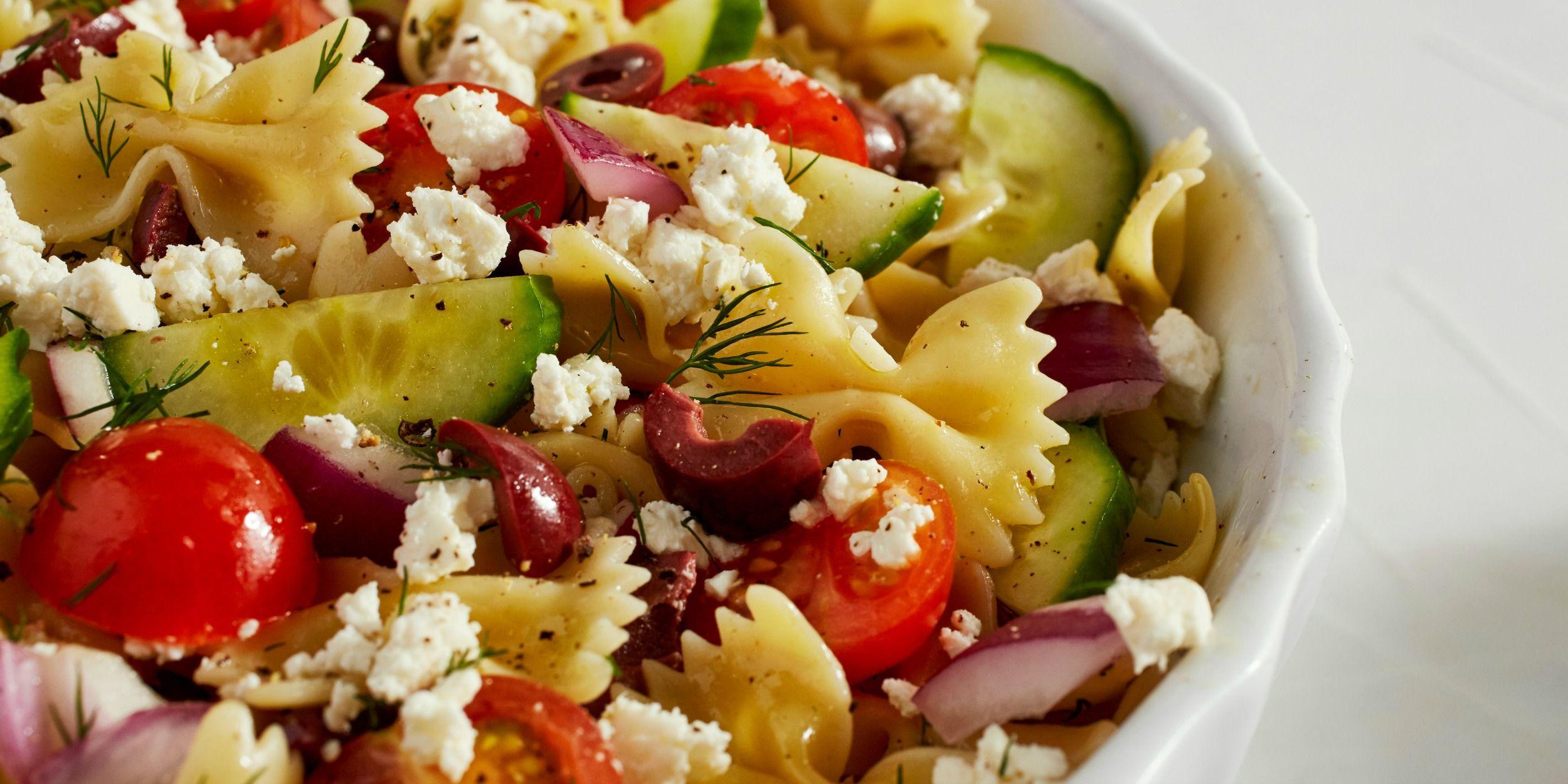 Pasta Salad Recipe Greek