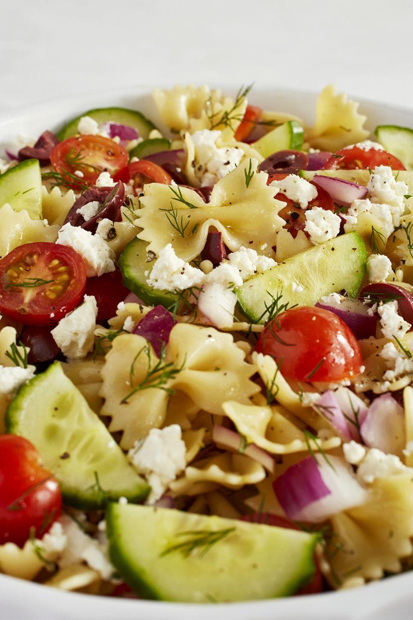 Greek Pasta Salad Vertical