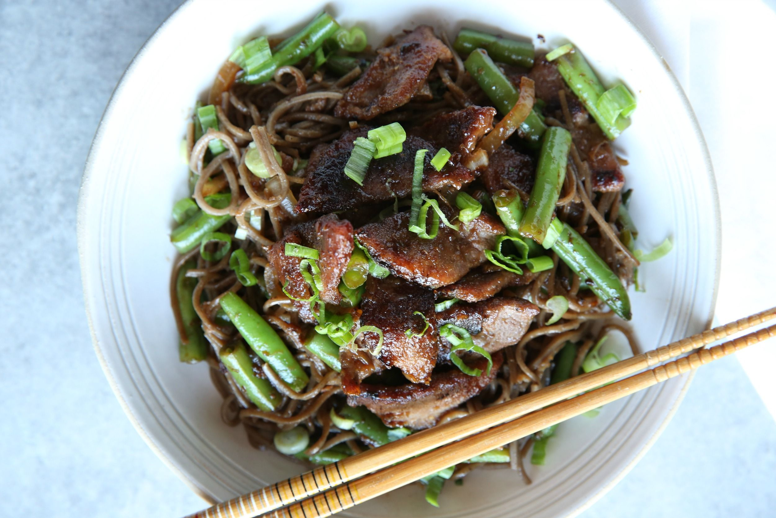 Beef Stir Fry With Soba Noodles Recipe Delish Com