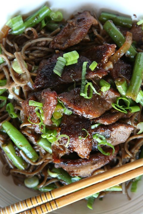 Beef Stir Fry with Soba Noodles Recipe