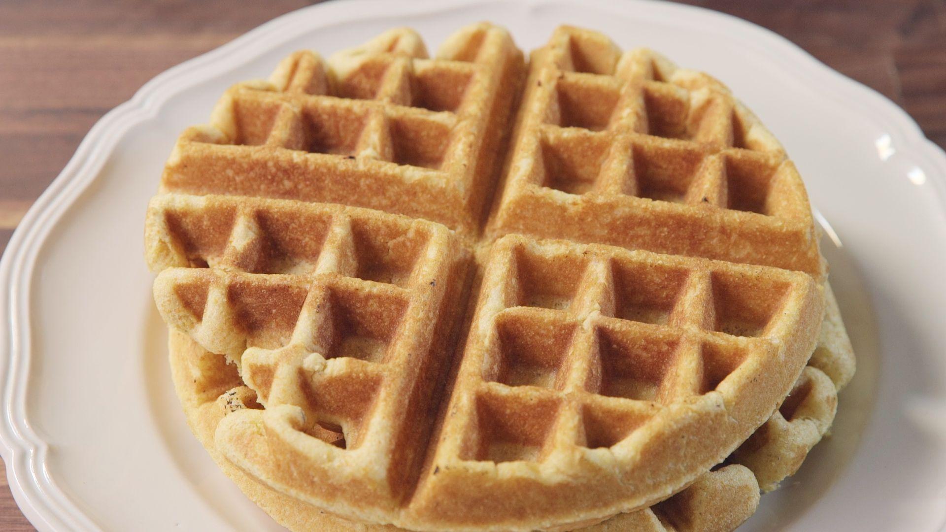 cornbread waffles recipe how to make cornbread waffles from scratch
