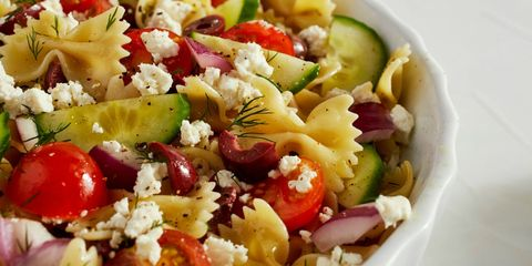 Greek Pasta Salad Horizontal