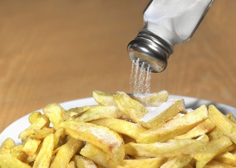 Fluid, Yellow, Food, Fried food, Deep frying, French fries, Liquid, Potato, Side dish, Safety glove,