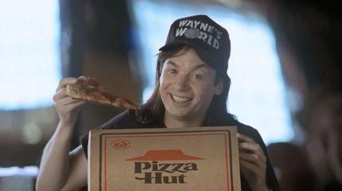 Wayne's World Pizza Hut