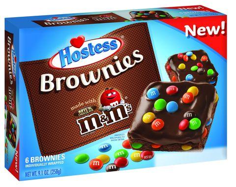 Hostess M&M Brownies