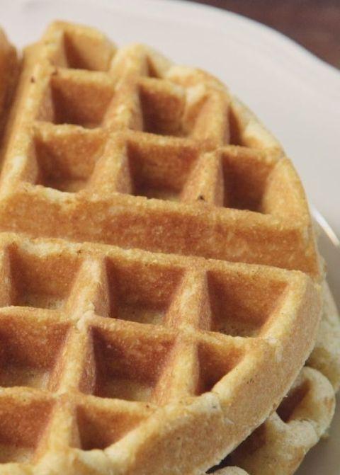 Cornbread Waffles Vertical