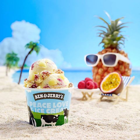 Food, Ingredient, Natural foods, Produce, Fruit, Ananas, Cuisine, Ice cream, Dessert, Sorbetes,