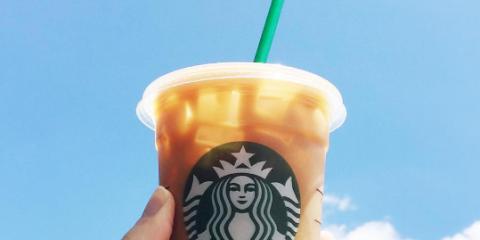 Starbucks Lid Hack