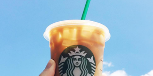 Starbucks Lid Hack