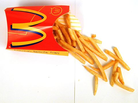 McDonald's french fries. (Photo by Urbano Delvalle/The LIFE Images Collection/Getty Images)