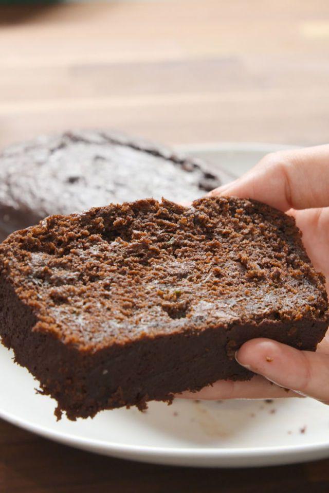 Delish Death By Chocolate Zucchini Bread Recipe