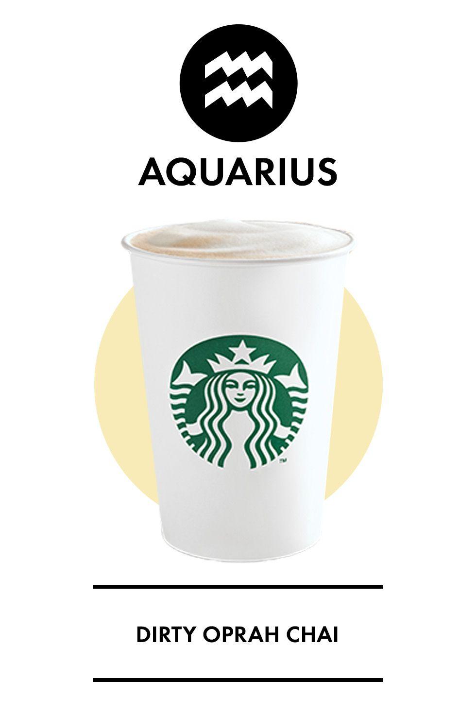 The Best Starbucks Secret-Menu Drink for Your Sign - Delish.com