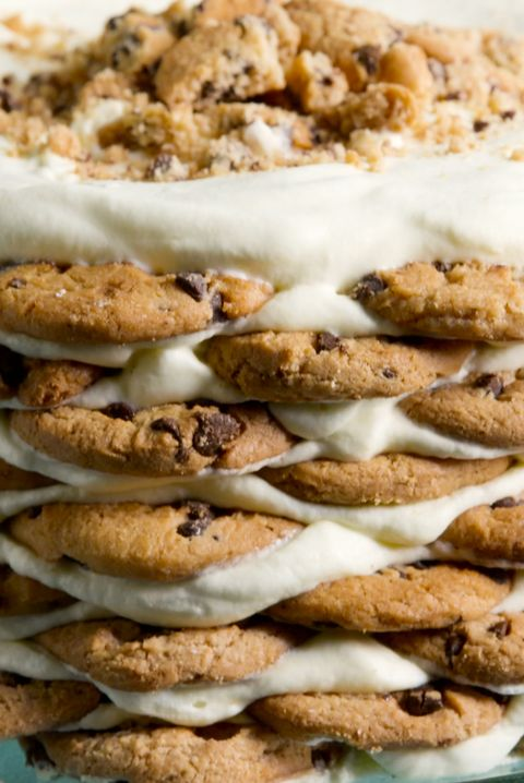Milk N Cookies Icebox Cake