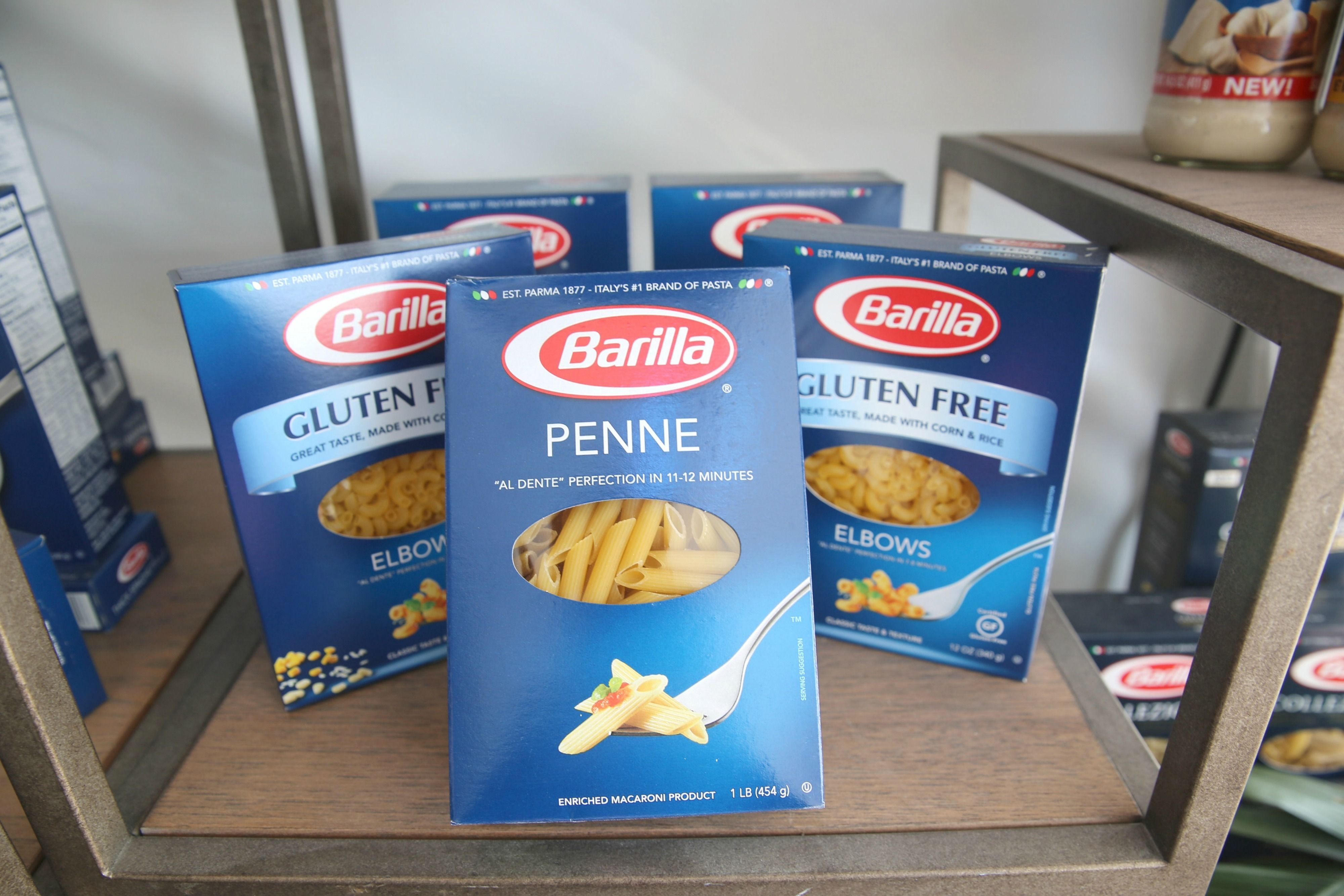 Barilla Is Being Sued For Underfilling Their Pasta Boxes
