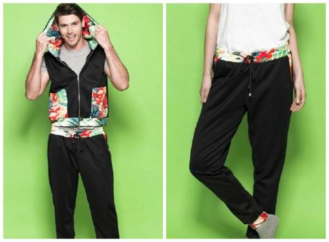 Green, Sleeve, Trousers, Textile, Joint, Waist, Elbow, Style, Pocket, Trunk,