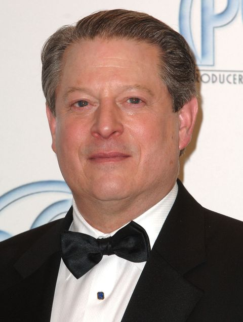 Al Gore during 2007 Producers Guild Awards - Press Room at Century Plaza Hotel in Century City, California, United States. (Photo by SGranitz/WireImage)