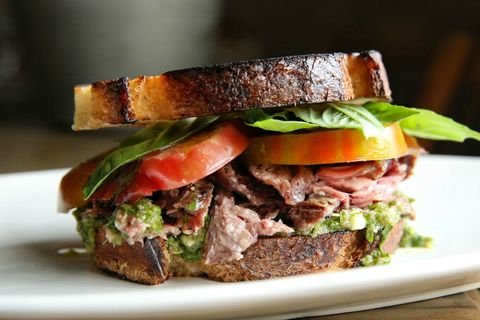 Chimichurri Steak Sandwich Recipe